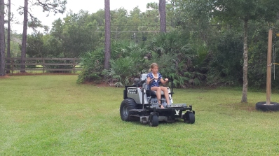 new mower halia