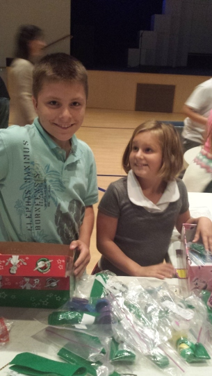 packing OCC boxes